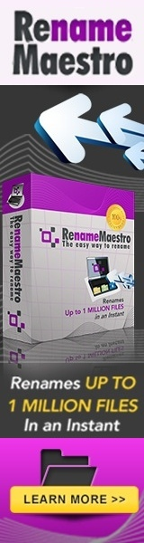 RenameMaestro Advert 160 x 600
