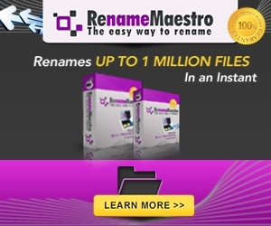 RenameMaestro Advert 300 x 250