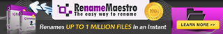 RenameMaestro Advert 320 x 50